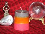 3 Phase Moon Candle - Love